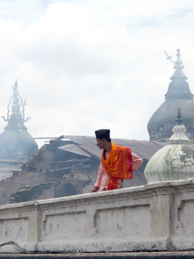 Templo de Pashupatinath en Katmandú. Viajar a Nepal