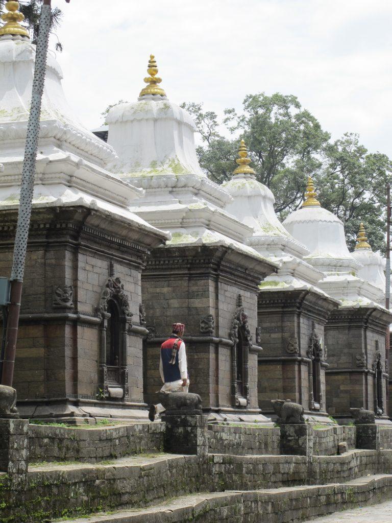 Templo de Pashupatinath en Kathmandu. Viajar a Nepal