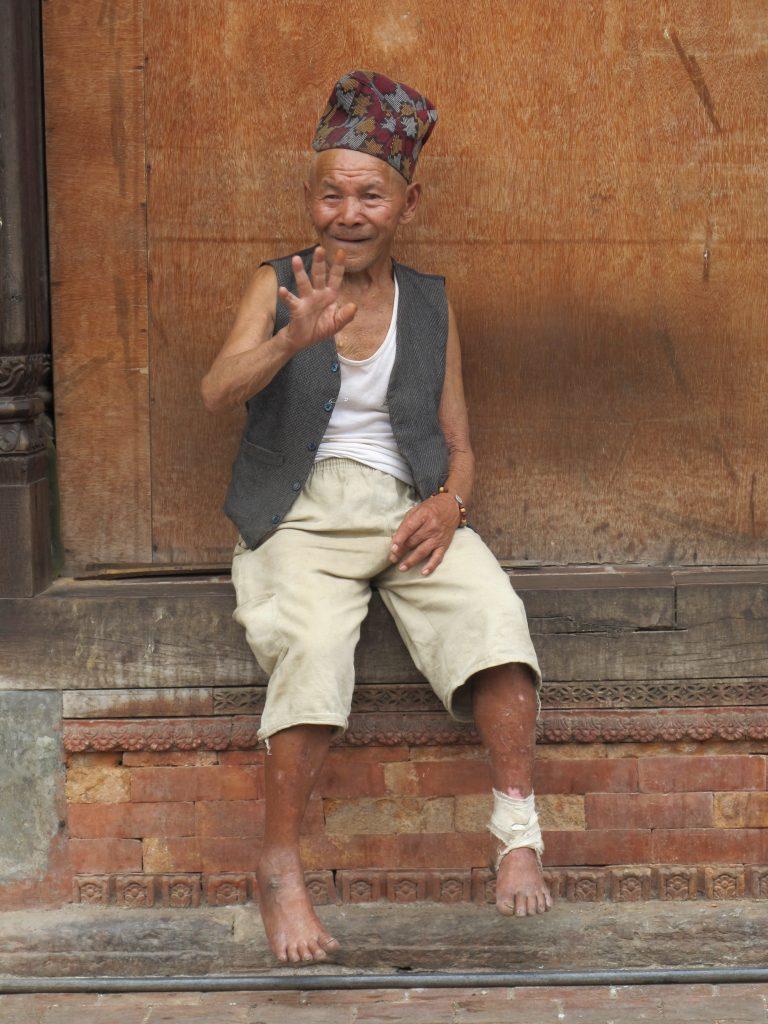 Residencia de ancianos junto al Templo de Pashupatinath en Katmandu. Viajar a Nepal