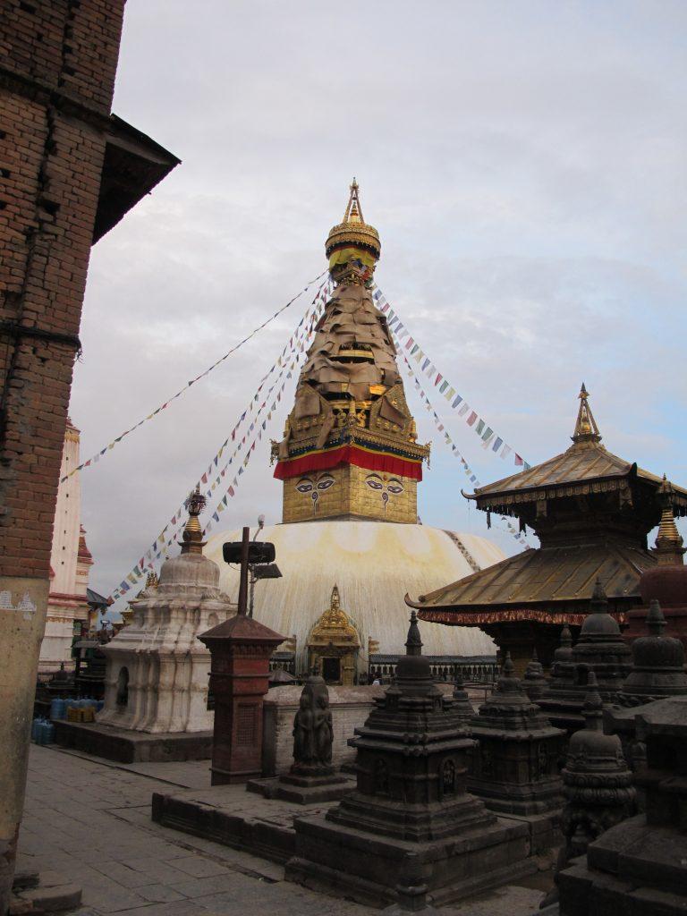 Swayambhunath, Monkey Temple o Templo de los monos. Viajar a Nepal