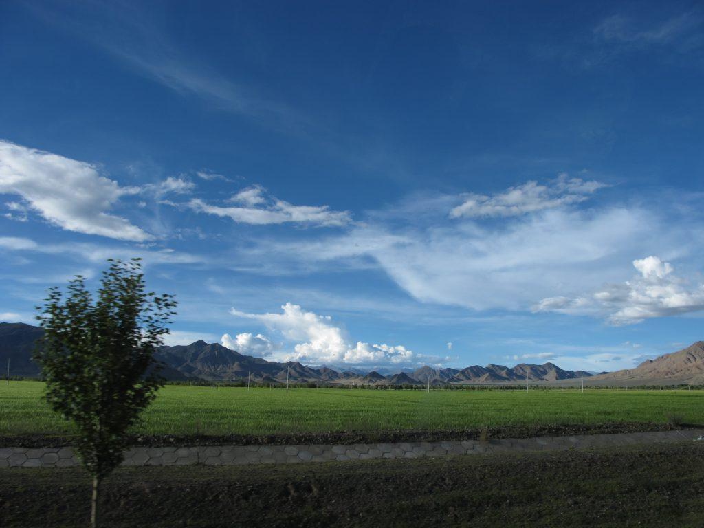 Gyantse en el Tibet. Viajar al Tibet. Viaje al Tibet. Carretera de la Amistad. Friendship highway