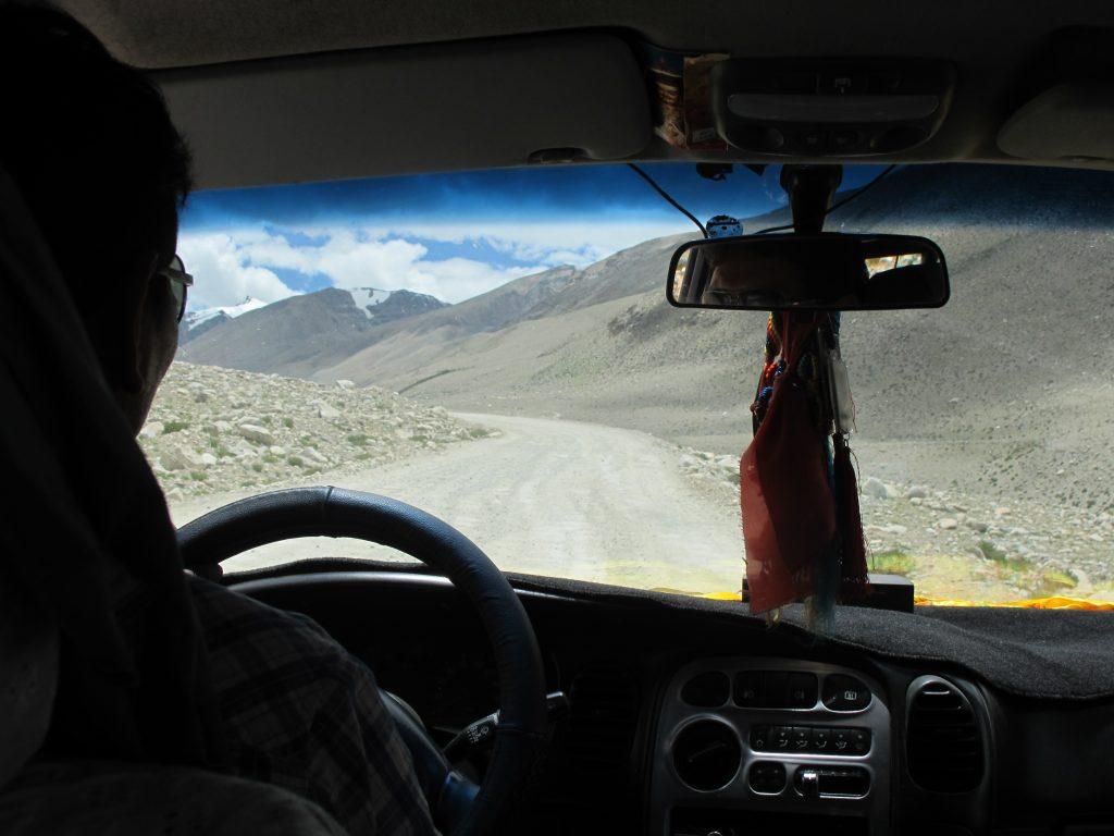 Parque Natural del Mt. Everest o Qomolangma en el Tibet. Carretera de la amistad. Viajar al Tibet. Viaje al Tibet. Carretera de la Amistad. Friendship highway