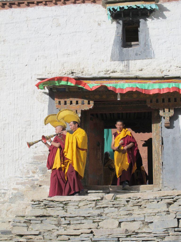 Monasterio de Rongbuk en la Carretera de la Amistad en el Tibet. Campo Base del Everest. Cara norte. North face. Viajar al Tibet. Viaje al Tibet. Friendship highway