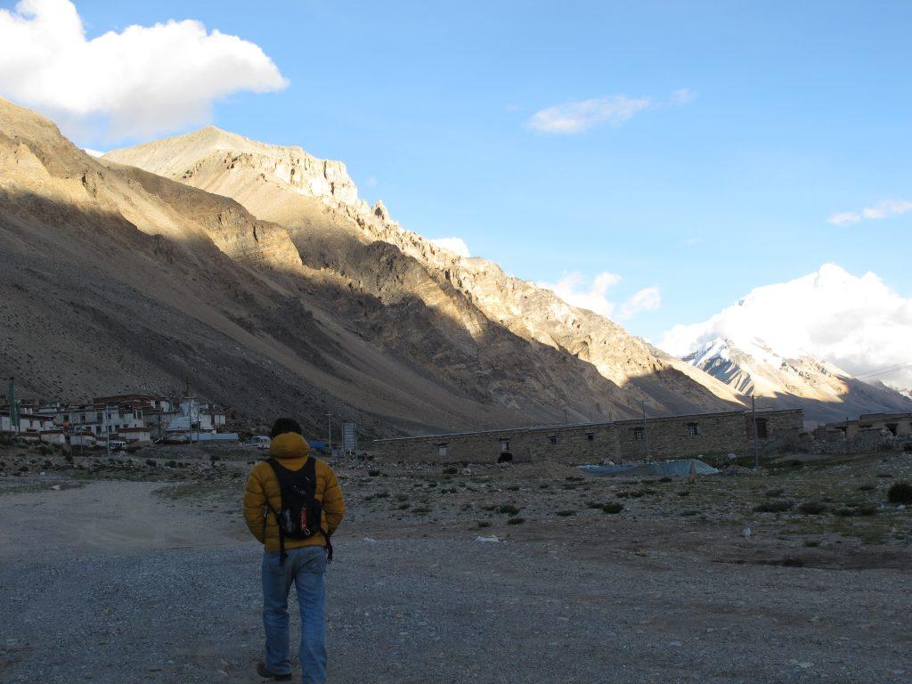 Rongbuk en la Carretera de la Amistad en el Tibet. Campo Base del Everest. Cara norte. North face. Viajar al Tibet. Viaje al Tibet. Friendship highway