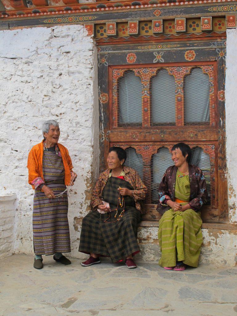 Simtokha Dzong  en Thimpu. Viajar a Bhutan. Viaje a Butan.