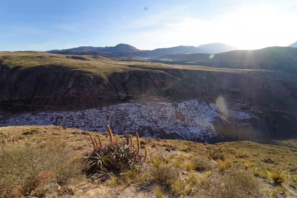 Salinas de Maras en Perú