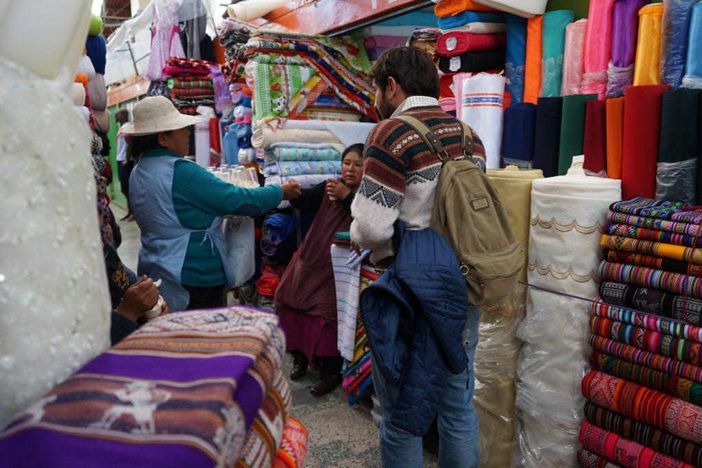 Mercado de Puno. Peru. Lago Titicaca