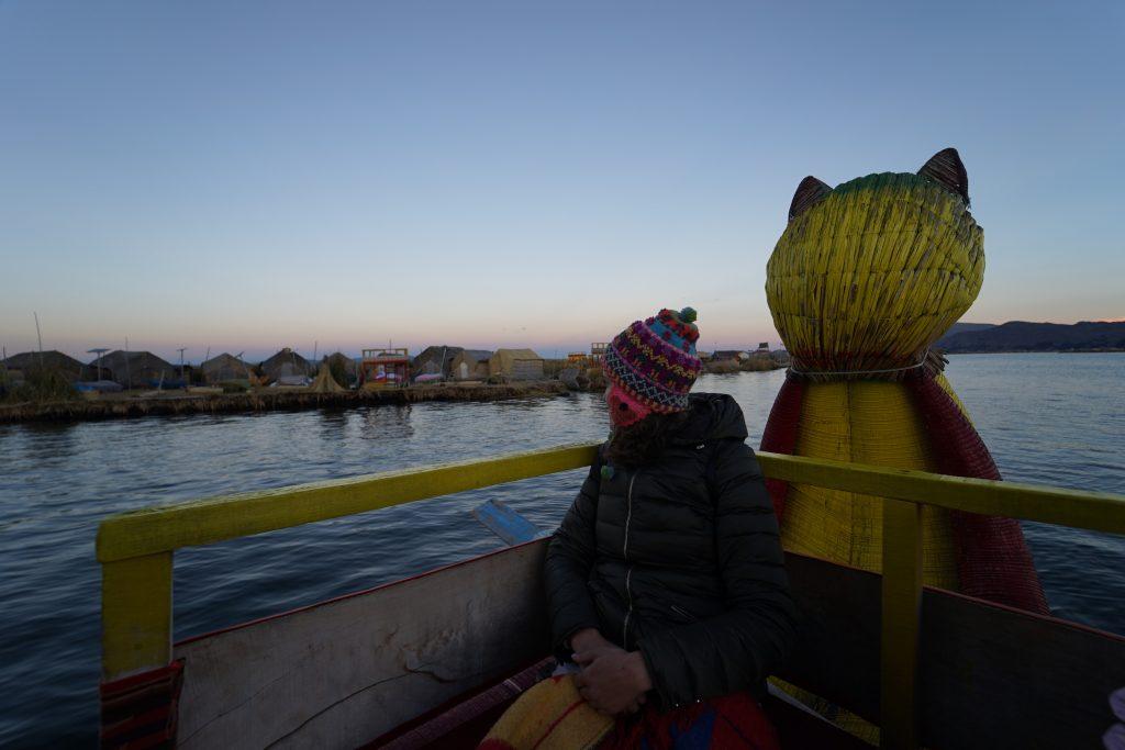Lago Titicaca. Puno, Peru. Islas Flotantes de los Uros. Cómo ir a las Islas Flotantes de los Uros