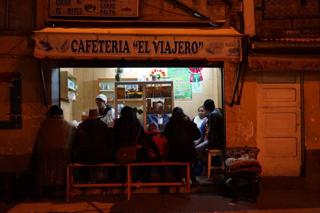 Estación de autobuses de La Paz. Bolivia