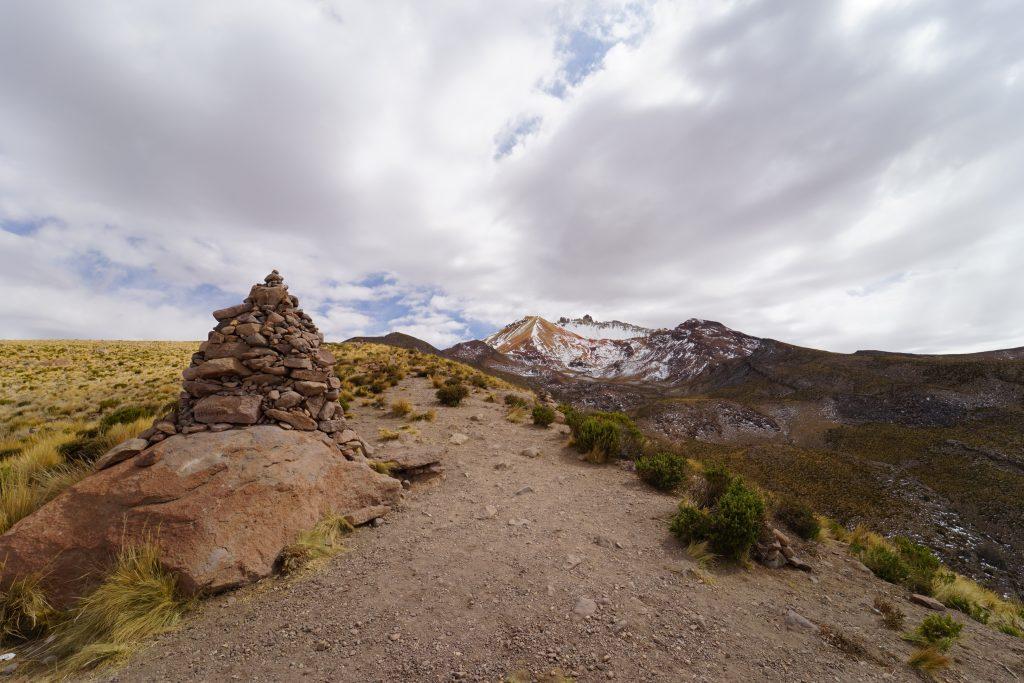 Volcán Tunupa en el salar de uyuni