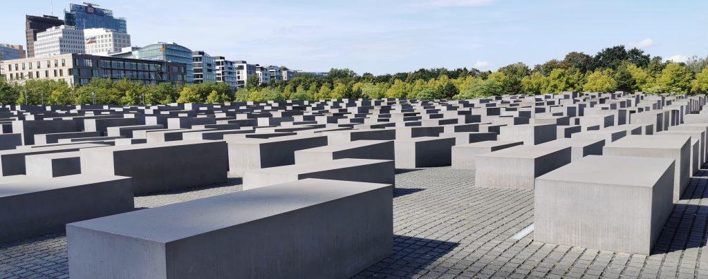 visitar berlin, Berlín en un día, berlin en dos días, berlin en 3 dias, Monumento al Holocausto, Monumento a los judíos de Europa asesinados.